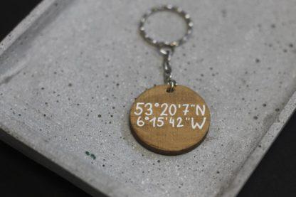 Schlüsselanhänger als Geschenkidee mit Lieblingsort